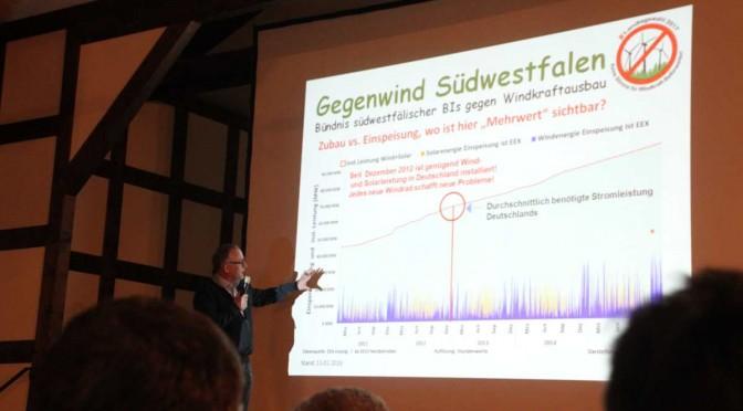 """Informationsveranstaltung """"Gegenwind Frettertal"""""""