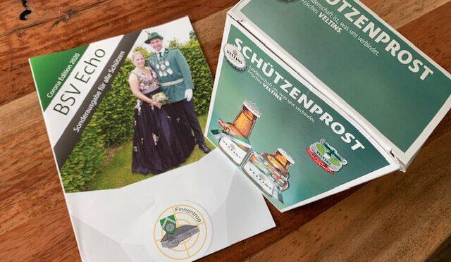 Überraschungsaktion des Finnentroper Schützenvereins